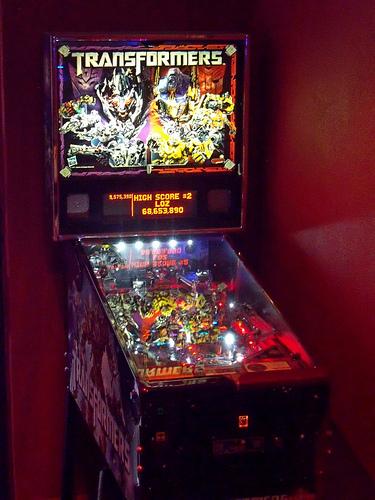 Transformers Pinball 52/14/3