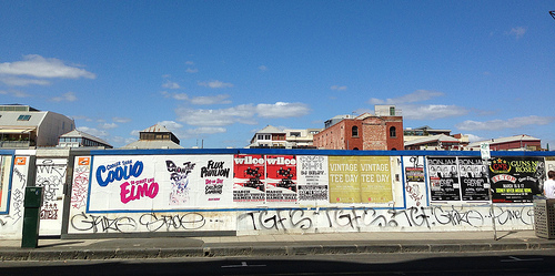 Smith St Collingwood landscape 52/10/1 #fp13