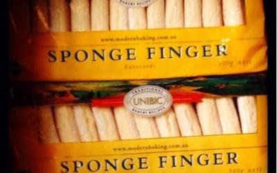 #blog12daysxmas Day 6 Sponge Fingers