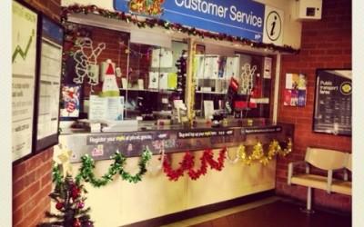 #blog12daysxmas Day 1 Christmas at Clifton Hill Station