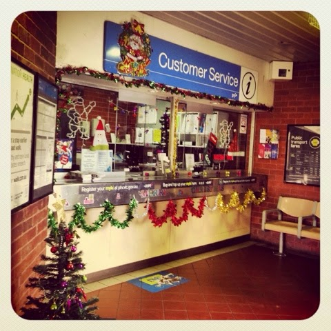 #blog12daysxmas Day 1 Christmas at Clifton Hill Station